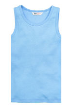 2-pack vest tops - White/Cars - Kids | H&M CN 3