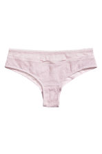 Lace hipster briefs - Light pink - Ladies | H&M CN 2