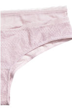 Lace hipster briefs - Light pink - Ladies | H&M CN 3