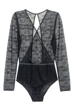 Lace body - Black - Ladies | H&M CN 2