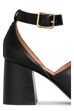 Sandals with a block heel - Black - Ladies | H&M CN 4