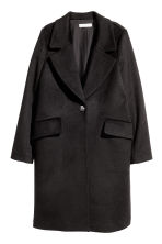 Wool-blend coat - Black - Ladies | H&M GB 2