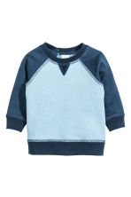 Sweatshirt - Light blue -  | H&M CN 1