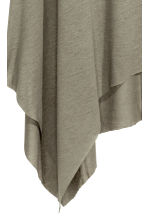 Asymmetric dress - Khaki green - Ladies | H&M CN 3