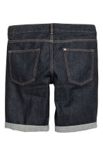 Denim shorts - Dark denim blue - Men | H&M CN 3