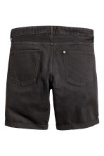 Denim shorts - Black denim - Men | H&M 3