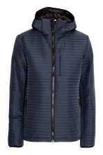Quilted outdoor jacket - Dark blue - Men | H&M 2
