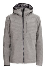 Quilted outdoor jacket - Grey - Men | H&M CN 2