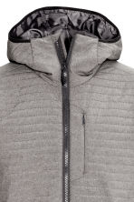 Quilted outdoor jacket - Grey - Men | H&M CN 3