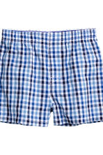 2-pack boxer shorts - Yellow/Checked -  | H&M CN 2