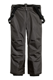 Ski trousers with braces