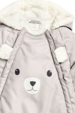 Padded all-in-one suit - Light mole - Kids | H&M CN 3