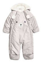 Padded all-in-one suit - Light mole - Kids | H&M CN 2
