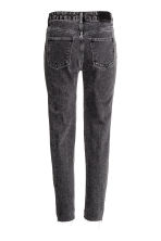 Slim Regular Ankle Jeans - Dark grey - Ladies | H&M CN 3