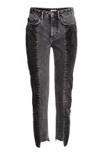 Slim Regular Ankle Jeans - Dark grey - Ladies | H&M CN 2