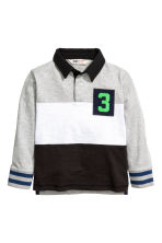 Rugby shirt - Black/Grey - Kids | H&M CN 2