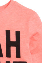 Long-sleeved T-shirt - Coral - Kids | H&M CN 3