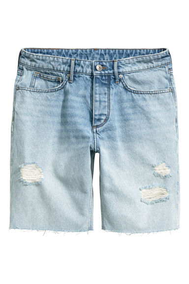 Shorts in denim - Blu denim chiaro - DONNA | H&M IT 1