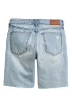 Shorts in denim - Blu denim chiaro - DONNA | H&M IT 2