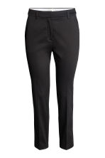 Cigarette trousers - Black - Ladies | H&M GB 2