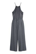 Patterned jumpsuit - Black/Spotted - Ladies | H&M CN 2