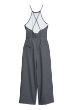 Patterned jumpsuit - Black/Spotted - Ladies | H&M CN 3