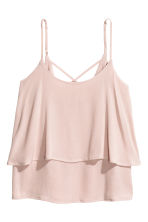 Flounced strappy top - null - Ladies | H&M CN 2