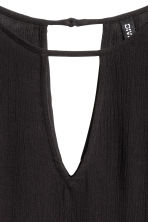 Long-sleeved blouse - Black - Ladies | H&M CN 3