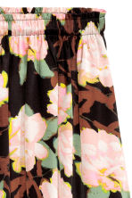 Patterned skirt - Black/Floral - Ladies | H&M CN 3