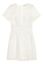 Short lace dress - White - Ladies | H&M CN 2