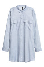Long shirt - Blue - Ladies | H&M CN 2