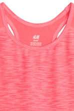 Sports vest top - Pink marl - Kids | H&M CN 3
