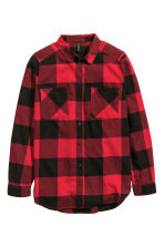Flannel shirt - Red - Ladies | H&M CN 2