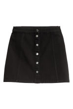 A-line skirt - Black - Ladies | H&M CN 2