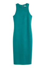 Sleeveless dress - Petrol - Ladies | H&M CN 2