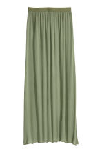 Maxi skirt - Khaki green - Ladies | H&M CN 2