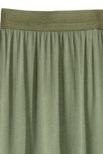 Maxi skirt - Khaki green - Ladies | H&M CN 3