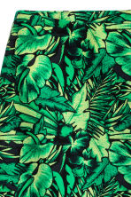 Short skirt - Green/Leaf - Ladies | H&M CN 3