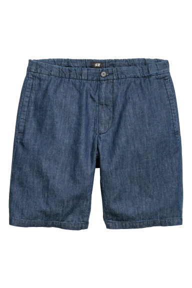 Short shorts - Dark denim blue - Men | H&M CN 1