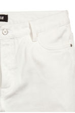 Denim shorts - White - Men | H&M CN 2