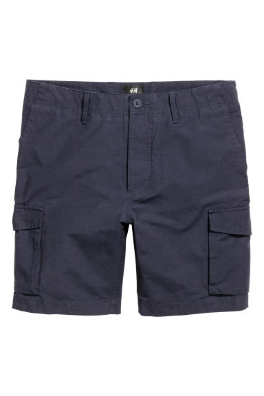 Cargo shorts - Dark blue - Men | H&M CN 1