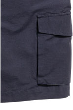 Cargo shorts - Dark blue - Men | H&M CN 3
