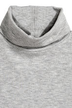 Top senza maniche a collo alto - Grigio mélange - DONNA | H&M IT 3