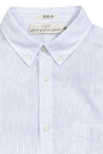 Patterned shirt - White/Striped - Men | H&M CN 3