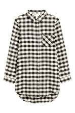 Long shirt - White/Checked - Kids | H&M CN 2