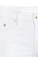 Super Skinny Low Trashed Jeans - White - Ladies | H&M CN 4