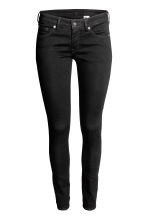 Super Skinny Low Jeans - Black denim - Ladies | H&M GB 2