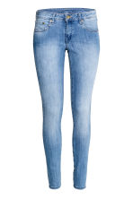 Super Skinny Low Jeans - 浅牛仔蓝 - 女士 | H&M CN 2
