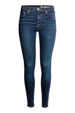 Shaping Skinny Regular Jeans - Dark denim blue rugged rinse - Ladies | H&M 2
