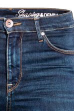 Shaping Skinny Regular Jeans - Dark denim blue rugged rinse - Ladies | H&M 5